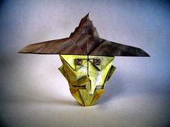 Bruja - Roger García (Rui.Roda) Tags: origami papiroflexia papierfalten witch sorcière bruxa bruja roger garcía