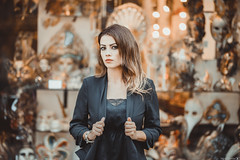 Evagelia (Vagelis Pikoulas) Tags: portrait venice venezia veneto masks bokeh woman women girl girls canon 6d sigma 85mm art photography photoshoot september autumn 2019 beautiful beauty