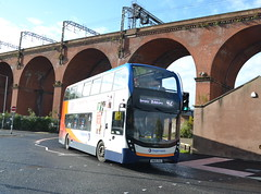 Stagecoach AD Enviro 400 11271 SN69ZGG - Stockport (dwb transport photos) Tags: stagecoach alexander dennis enviro bus decker 11271 sn69zgg stockport