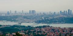 İstanbul Cityscape (aykutgebes) Tags: city cityscape bosphorus istanbul skyline skyscraper bridge