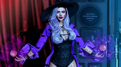#296 (by Any Bergan) Tags: wiccas witch halloween poses itgirl fashion style blog blogger inthesquad doux prada lisawalker seniha noir cheeky codex belleposes