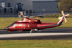 G-XXEB_02 (GH@BHD) Tags: gxxeb sikorsky s76 s76c s76c2 thequeenshelicopterflight belfastcityairport bhd egac helicopter chopper rotor executive corporate vip royal