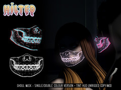 HILTED - Ghoul Mask (HILTED) Tags: hilted we love rp roleplay cyber ghoul mask scifi horror halloween