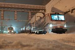 Let it snow... (Damiano Piovanelli) Tags: treno treni ferrovie ferrovia ferroviedellostato brennero brenner brennerbahn locomotiva siemens e193773 193773 e193 lokomotion railtractioncomapny
