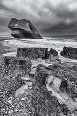 Imperial March ( Metallica Version ) (sdupimages) Tags: composition landscape paysage seascape bunker monochrome nb bw noirblanc noiretblanc blackwhite