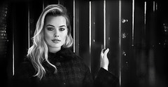 (horlo) Tags: portrait bw blackandwhite noiretblanc film movies cinema actress nb wallpaper fonddécran glamour actrice monochrome margotrobbie woman femme collage