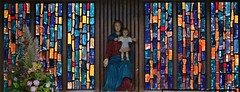 Lady Chapel (Rev Paul O'Connor) Tags: wolverhampton penn stmichael catholic church ladychapel stainedglass