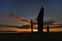 Stenness at dusk (images@twiston) Tags: dusk stonesofstenness sunset standing stones stenness neolithic henge stone circle orkney scotland megalith heartofneolithicorkney lochofstenness prehistoric stoneage atmospheric island sky clouds landscape megaliths monolith monoliths imagestwiston loch highlands islands scottishhighlands northernisles unesco worldheritagesite nisi nisifilters gnd neutraldensity grad