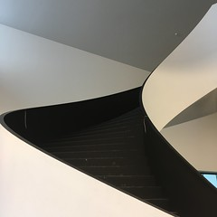 More stairs (Iris_14) Tags: architecture escaliers stairs staircase lines curves abstract lausanne suisse schweiz switzerland