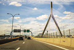 Zakim Bridge (Outsider Imagery) Tags: zakimbridge bridge road highway architecture boston clouds cloud sky outsiderimagery