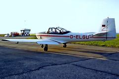 D-ELGU   Piaggio FWP-149D [111] Rottweil-Zepfenhan~D 14/08/1997 (raybarber2) Tags: 111 airportdata cn111 dalgu edsz filed flickr germancivil planebase print raybarber single