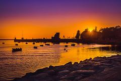 Foz do Douro (Ro Cafe) Tags: oporto portugal port harbor marina sunset summer travel seascape nikkor2470mmf28 sonya7iii