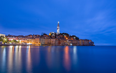 Rovinj Blue Hour  / Istria, Croatia (Torok_Bea) Tags: rovinj croatia croatie wonderful amazing awesome night kékóra beautiful city istria bluehour fantastic holiday horvátország friends nikon nikond7200 natur tokina1116 tokina adria adriabeach sea longexpo longexposure october europe