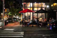 Evening (Nun Nicer Artist) Tags: dinner manhattan 35mmstreetphotography nightphotography night city restaurant newyork nunnicer travel 35mm streetphotography