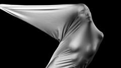 Lest We Forget How Fragile We Are (○gus○) Tags: nikond750 240700mm ƒ90 1200 portrait ritratto woman donna girl ragazza film pellicola wrap wrapped biancoenero blackandwhite blancoynegro bn monochrome bw ec ʂ