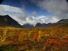 Tundra (dration) Tags: sweden lapland landscape mountain sky tundra autumn