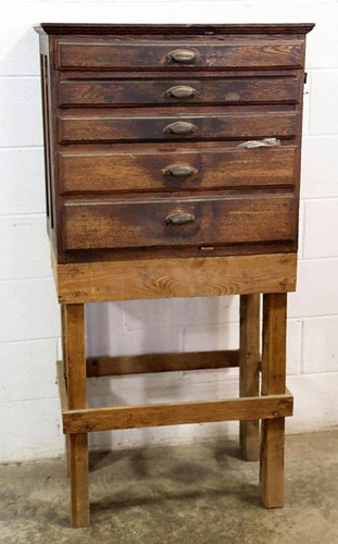 Oak 4 drawer tool chest ($224.00)
