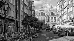 Gdansk historic Old Town (rainerpetersen657) Tags: gdansk danzig poland polska polen travel city historic historisch sony sonyalpha monochrome bw blackandwhite blancoynegro 50mm