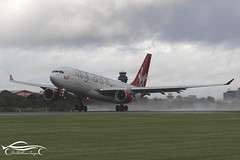 Virgin Atlantic Airways Airbus A330-223 (jonny4x4uk) Tags: man egcc manchester airport ringway cloud rain spray dark grey avgeek boeing airbus b737 b747 b757 b767 b787 a380 a350 a340 a330 a320 bombardier embraer erj crj dehavilland dh8 dash 8 190 175 195 atr 72 900 british ba speedbird virgin atlantic emirates etihad ryanair easyjet qatar singapore wamos atlas tap portugal flybe canada rouje malaysia jet2 holidays eurowings tui plus ultra blue panorama scandinavian sas gvlnm airways