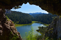 The Cave (*Vasek*) Tags: austria österreich europe nature outdoors nikon d7100 lake cave mountains