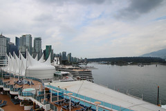Nieuw Amsterdam at Canada Place (oxfordblues84) Tags: canada vancouverbc vancouverbritishcolumbia vancouver royalprincesscruise embarkationday cruise insidepassagecruise alaskainsidepassagecruise princesscruiseline canadaplace skyline vancouverskyline water harbour vancouverharbour stanleypark tree trees sky cloud clouds cloudy partlycloudysky loungers lounger chair deckchairs deckchair highrisebuildings highrisebuilding