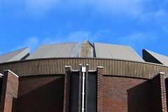 Roof Detail (Rev Paul O'Connor) Tags: wolverhampton penn stmichael catholic church roof