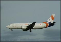 TS-IEE Boeing 737-33A Karthago Airlines (elevationair ✈) Tags: dub eidw dublin airport dublinairport ireland avgeek aviation airplane aircraft arrival departure boeing 737 733 boeing73733a karthago airlines karthagoairlines tsiee