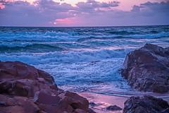 Sunrise Sweetener (Leo(Blue)Mayer) Tags: nd filter sea ocean rock clouds sunrise waves