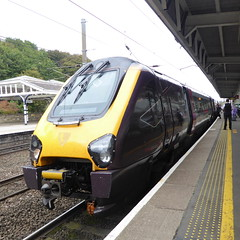 221121 at Durham (10/10/19) (*ECMLexpress*) Tags: arriva cross country class 221 super voyager dmu 221121 durham ecml