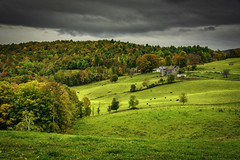 Reading, Vermont (Chad Straw Images) Tags: vermont travel travelphotography traveling trees fall farm fallcolors foliage farmhouse country colors clouds countryside landscape landscapephotography landscapes leaves amazing autumn america newengland nikon nikond610 nature scenic scenery unitedstates rural agriculture