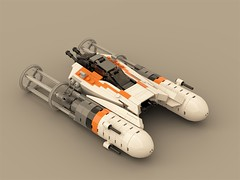 H-Wing (Y Wing dogfighter) (ron_dayes) Tags: star wars space ship y wing