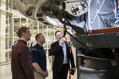 NASA Administrator Visits SpaceX HQ (NHQ201910100013) (NASA HQ PHOTO) Tags: ca jimbridenstine spacex hawthorne elonmusk spacexheadquarters nasa aubreygemignani willheltsley nasaadministrator