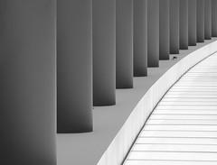 Endless (Lumen Candela) Tags: endless endlos säulen pillars brandenburgertor ubahnhof light licht