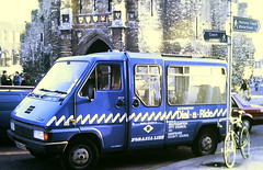 Slide 144-94 (Steve Guess) Tags: southampton hants hampshire england gb uk bus bargate dialaride renault master minibus d588ctp