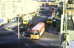 Slide 144-92 (Steve Guess) Tags: southampton hants hampshire england gb uk bus solent blueline mustaphantom leyland national