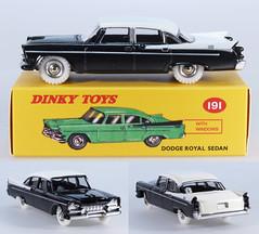 DIN-A-191-Dodge-black (adrianz toyz) Tags: adrianztoyz dinky toys diecast toy model car 191 dodge royal atlas editions reissue black copy reedition