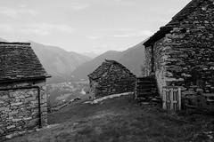 DSCF8965 (shutterspeedisland) Tags: x100t blackandwhite landscape mountains valley ticino maggia switzerland traditional x100 fujifilm