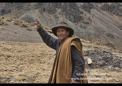 Portrait of an Andean highlander on the Cordillera Huayhuash circuit, Ancash, Peru (jitenshaman) Tags: travel worldtravel destination destinations southamerica latinamerica peru peruvian andes andean huaraz cordillera mountains huayhuash cordillerahuayhuash outdoors ancash theandes herder herders countryside rural quechua highlands shepherd old man oldman gaucho portrait cowboy hat elderly grandpa weathered elder grandfather cowboys indigenous native local