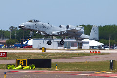 170409_018_SnF_A10_Takeoff (AgentADQ) Tags: united states a10c thunderbolt ii warthog attack plane airplane military aviation sun n fun flyin expo airshow air show lakeland florida 2017