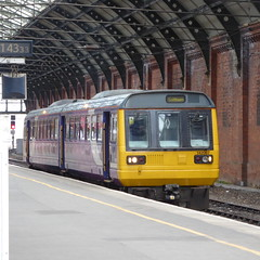 142067 at Darlington (10/10/19) (*ECMLexpress*) Tags: arriva northern class 142 pacer dmu 142067 darlington ecml