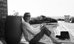 Tori channels Moe Tucker (neilsonabeel) Tags: blockisland rhodeisland blackandwhite film analogue island nikonfm2 nikon nikkor newengland moheganbluffs