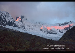 Alpenglow above Alpamayo Basecamp, Cordillera Blanca, Ancash, Peru (jitenshaman) Tags: travel worldtravel destination destinations southamerica latinamerica peru peruvian andes andean huaraz cordillera mountains mountain scenic scenery landscape landscapes beautiful nature naturalbeauty view vista views trek hike hiking trekking alpine peaks breathtaking granite adventuretravel trail path route hiker trekker snow outdooradventure outdoors ancash theandes summits cordillerablanca santacruz santacruztrek huascarannationalpark huascaran nationalpark camp jancarurish tayapampa alpamayo alpenglow sunset alpamayobasecamp ice glacier glaciated