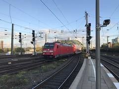 RE1 at Cologne (simonstrains) Tags: deutschebahn kölnhbf dbregio db146 traxx