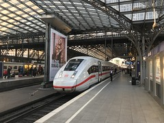 ICE4 at Cologne (simonstrains) Tags: db412 kölnhbf intercityexpress ice4 deutschebahn