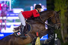 20191005 CSIO BARCELONA - FEI Nations Cup FInal (threiner) Tags: barcelona eikensatoofjapanridingchacanno horse reiten springreiten fei riding showjumping spain