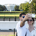 Couple takes Selfie in front of The White House