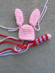 A mini crochet pig B (crochetbug13) Tags: crochet crocheted crocheting amigurumi crochetpig minicrochetpig crochettoy