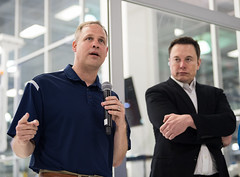 NASA Administrator Visits SpaceX HQ (NHQ201910100016) (NASA HQ PHOTO) Tags: ca jimbridenstine spacex hawthorne elonmusk spacexheadquarters nasa aubreygemignani nasaadministrator