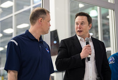 NASA Administrator Visits SpaceX HQ (NHQ201910100018) (NASA HQ PHOTO) Tags: ca jimbridenstine spacex hawthorne elonmusk spacexheadquarters nasa aubreygemignani nasaadministrator