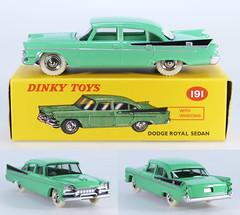 DIN-A-191-Dodge-green (adrianz toyz) Tags: adrianztoyz dinky toys diecast toy model car 191 dodge royal atlas editions reissue copy reedition
